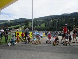 22. Kids Bike Kriterium auf der Ennsbodenarena in Haus im Ennstal